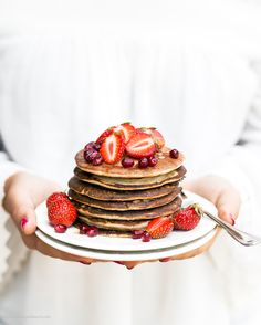Buckwheat Pancakes Recipe (wheat/gluten/refined sugar free)