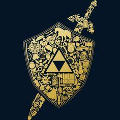 The Legend Continues - Gold hoodie by thehookshot http://geek.ragebear.com/j86ch