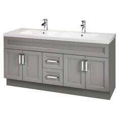 Cutler Kitchen & Bath Urban 60 in. Double Bathroom Vanity - URBDB60DBT