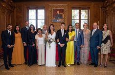 Caroline Von Hannover, Wedding Looks, Wedding Day, Wedding Anniversary, Fürstin Charlene, Wedding Pantsuit, Religious Wedding, Princess Caroline Of Monaco, Beauty And Fashion