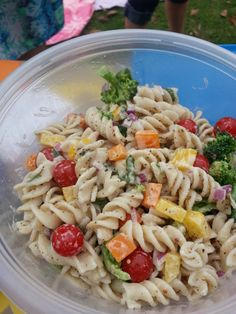 Vegan Gluten-Free Pasta Salad Recipe | VeganSpin.com