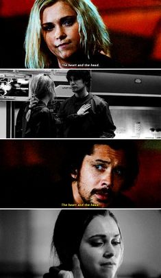Bellamy and Clarke #The100 #5x05