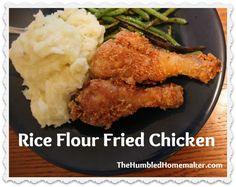 Rice Flour Fried Chicken (GF, DF) - The Humbled Homemaker