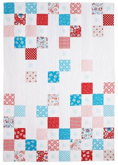 - Floral Matrix Quilt Kit