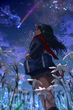 Show Manga And Anime Drawing Styles Fan Art Anime, Anime Artwork, Anime Art Girl, Manga Anime, Manga Art, Anime Galaxy, Image Manga, Anime Scenery, Kawaii Anime Girl