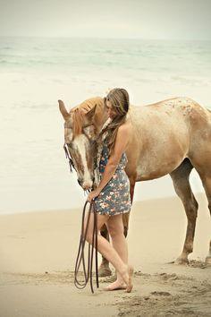 Montaña de Oro State Park (Horse Photo Shoot On The Beach)