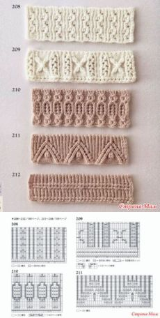 New pattern for cleaning the edge of the product (knitting needles . New pattern for cleaning the edge of the product (knitting needles # Baby Knitting Patterns, Knitting Stiches, Cable Knitting, Knitting Charts, Crochet Stitches, Stitch Patterns, Crochet Patterns, Knitting Needles, Scarf Patterns