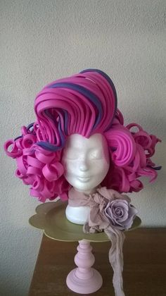Marilyn Monroe Foam wig от LadyMallemour на Etsy