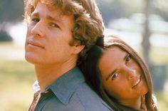 "Ryan O'Neal et Ali McGraw ."" Love Story""  1970"