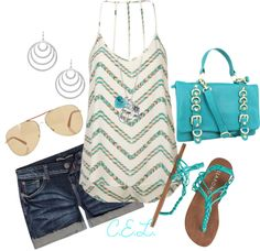 Cute outfit for a summer day <3