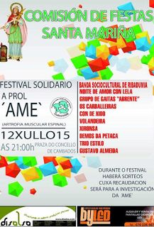 "CORES DE CAMBADOS: FESTIVAL SOLIDARIO A PROL DE ""AME"""