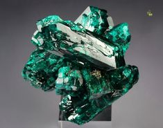Dioptase from Reneville Mine (Djoue Mines), Pool Department, Congo