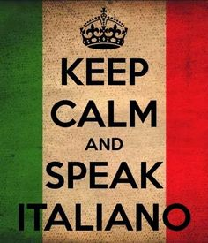 Keep Calm and Speak Italiano Keep Calm Quotes, Me Quotes, Qoutes, Funny Quotes, How To Speak French, Learn French, Keep Calm And Love, My Love, Italian Memes