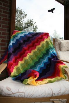 """I would love a blanket like this for our """"picnic"""" set up!"""