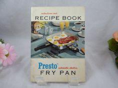 Vintage 1956 l Presto Automatic Electric Fry Pan by SecondWindShop, $7.50