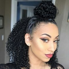 "naturalgyrls: ""Love the hair and style! ✌@beautifiya """