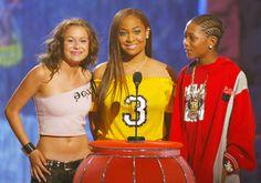 Alexa Vega, Raven-Symoné and Lil Romeo | 38 Photos From The 2003 Teen Choice Awards That Will Make You Nostalgic
