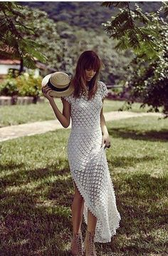 Click to view pattern for - Crochet romantic dress