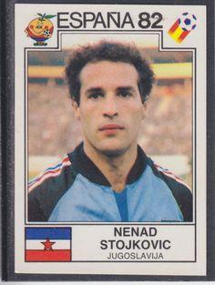 Panini - Espana 82 World Cup - # 316 Nenad Stojkovic - Jugoslavija Football Cards, Football Soccer, Baseball Cards, Fifa World Cup, Vignettes, Sports, Ebay, Soccer, Adidas Outfit