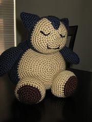 Ravelry: Snorlax Pokemon pattern by The Nerdy Knitter  $