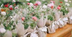 Ideia para lembrancinha: muda de flores