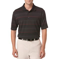 Ben Hogan Performance Stripe Short Sleeve Polo Shirt