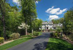 SafeHouse-Sherborn  Sherborn, Massachusetts Massachusetts, Sidewalk, Mansions, House Styles, Home, Decor, Decoration, Manor Houses, Side Walkway