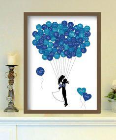 up in the air - Gästeplakat von foryoudesign ist DEIN design auf DaWanda.com