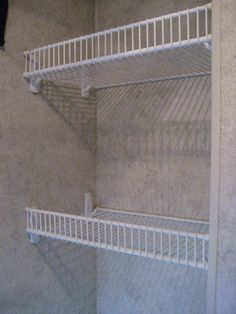 """Our customer, Paul, wanted to put up shelf storage in his Motor Home. This is his story: """"I started out this process by writing an e-mail to Organize-It asking some questions about the use of the 9-inch tight mesh wires shelves in a motor home closet. Shortly after writing I received a phone call back …"""