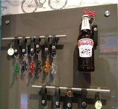 Bottle opener display