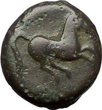 Carthage in Zeugitana 400BC Tanit Cult & Horse Rare Ancient Greek Coin i55581
