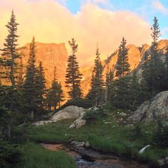 A beautiful morning near Dream Lake in Rocky Mountain National Park... from MacGregor Mountain Lodge fb page