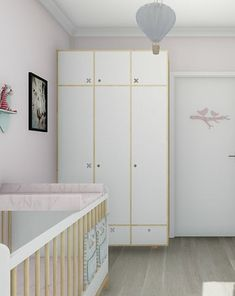SZAFA 2 DRZWIOWA BIAŁA KÓŁKO KRZYZYK - pokój dziecka - meble - Pakamera.pl Divider, Furniture, Home Decor, Decoration Home, Room Decor, Home Furnishings, Home Interior Design, Room Screen, Home Decoration
