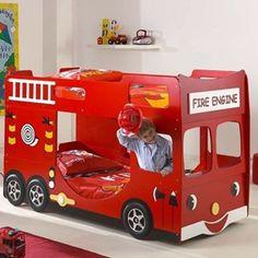 lit pour enfant camion de pompier bricolage pinterest. Black Bedroom Furniture Sets. Home Design Ideas