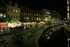 Downtown Aarhus, Denmark