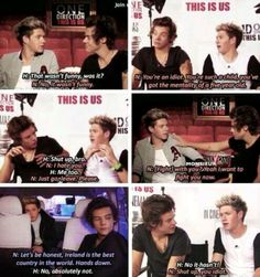 Narry arguing is seriously the best thing ever ♡