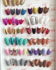 E.MI Nail Swag, Simple Nail Art Designs, Easy Nail Art, Spring Nail Art, Spring Nails, Crazy Nails, Love Nails, Jasmine Nails, Nail Art Wheel