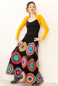 [design inspiration] Long Gypsy Circle Skirt