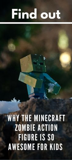 Learn why the Minecraft Zombie Action Figure is the perfect gift for kids. This toy looks just like the zombie from the game!