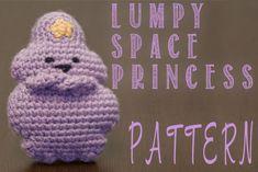 lumpy space princess crochet