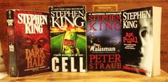 Stephen King 4 Bks Cell Apt Pupil (Seasons) The Talisman The Dark Half PB Horror