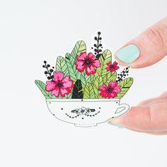 Floral Statement Brooch - Andsmile Studio