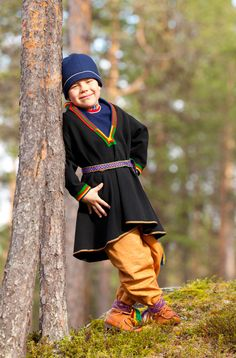 Jokkkmokk - Swedish Lappland. Sami people.