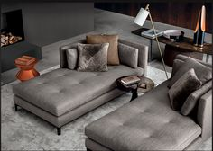 Minotti, designed and quality made in Italy.