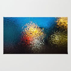 Condensation 05 - The Miracle Of Istanbul Area & Throw Rug by Pete Edmunds - $28.00
