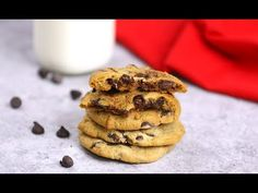 Homemade Chocolate Chip Cookie Dough Recipe (with Video) | TipBuzz