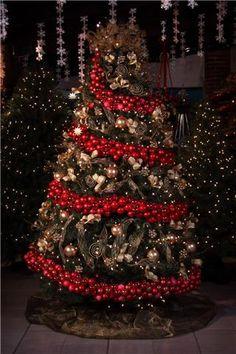Navidad 2013 on pinterest navidad bulb lights and - Arbol de navidad decorado ...