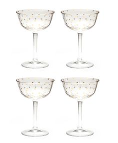 Soiree Glass Fluted Coupe