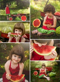 Watermelon Mini Sessions Summer Melon Mini Sessions RFK Photography