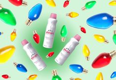 Don't let your holiday makeup burn out before the party is over! Bring an #evianspray mini along in your favorite festive bag for extra-bold makeup all night.